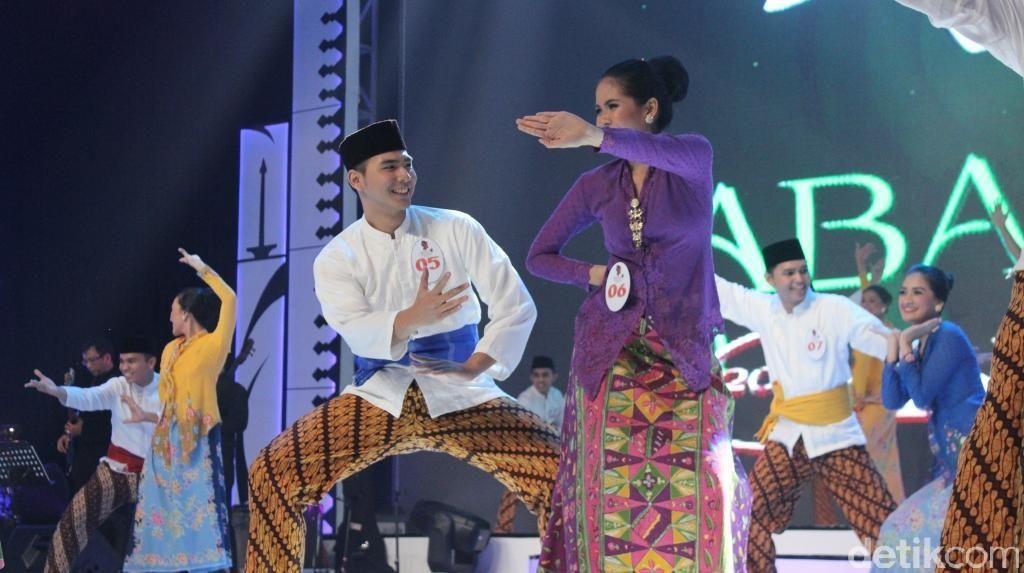 Aksi Panggung Finalis Abang None 2016