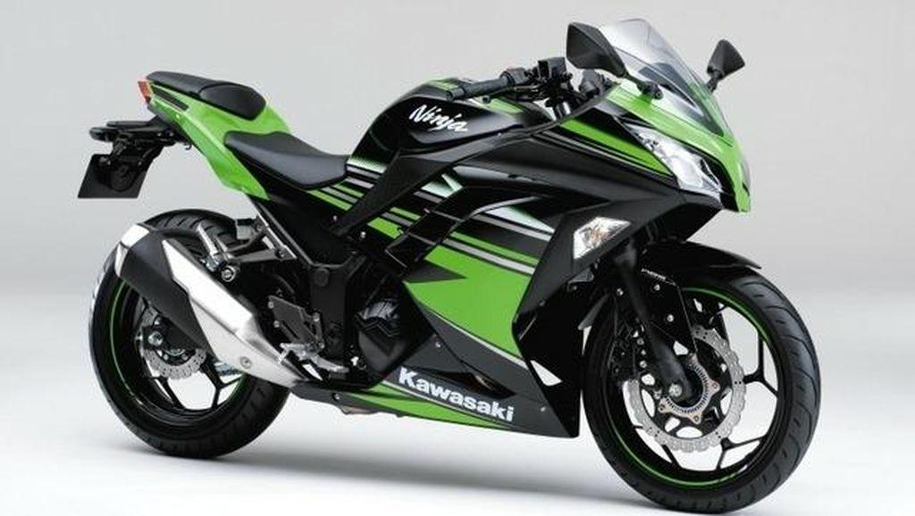 Warna-warni Kawasaki Ninja 250 Model 2017