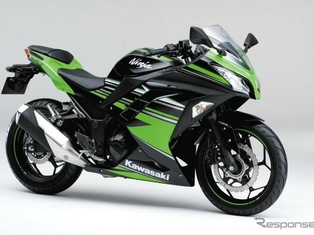 Warna-warni Kawasaki Ninja 250 Model 2017