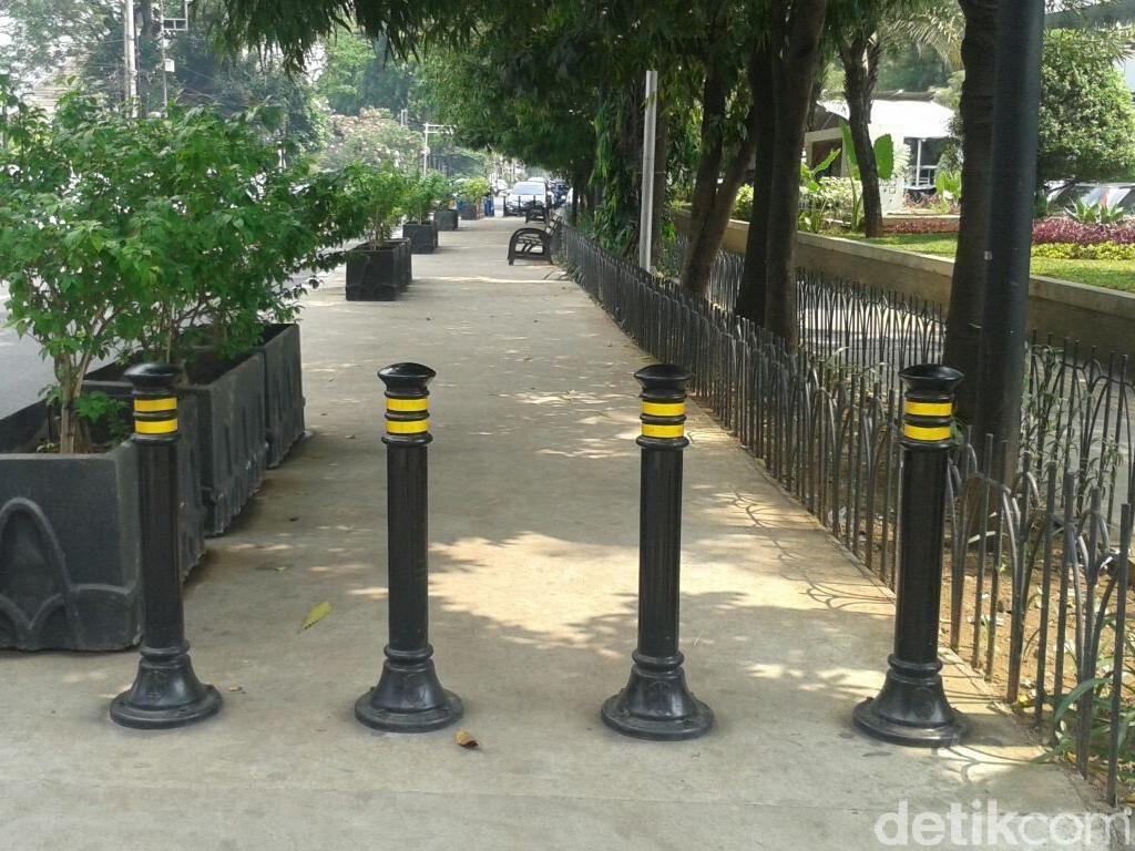 Perluas Trotoar Monas-Ratu Plaza, Pemprov DKI Siapkan Rp 200 M