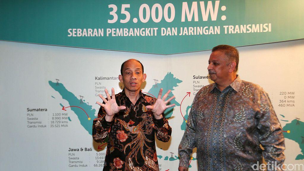 Menteri ESDM dan Dirut PLN Bahas Proyek 35.000 MW
