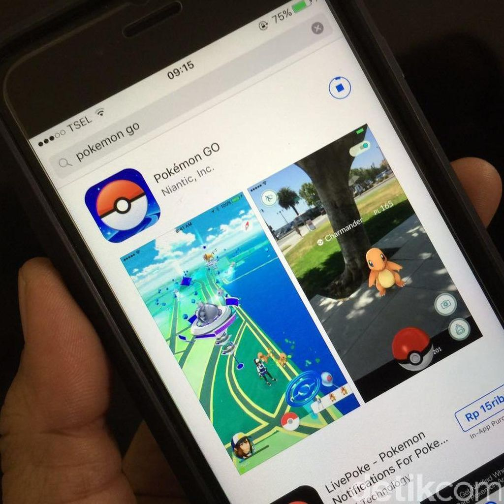 Berkat Pokemon Go, Game Mobile Makin Digilai