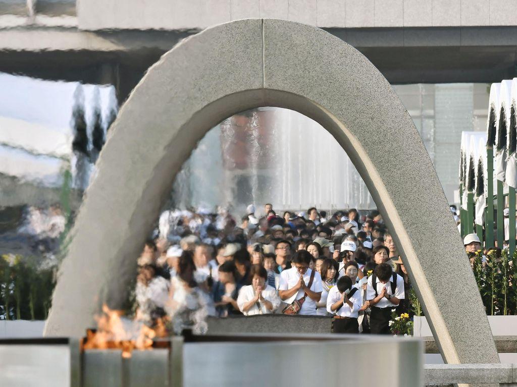 Jepang Peringati 71 Tahun Tragedi Bom Atom Hiroshima