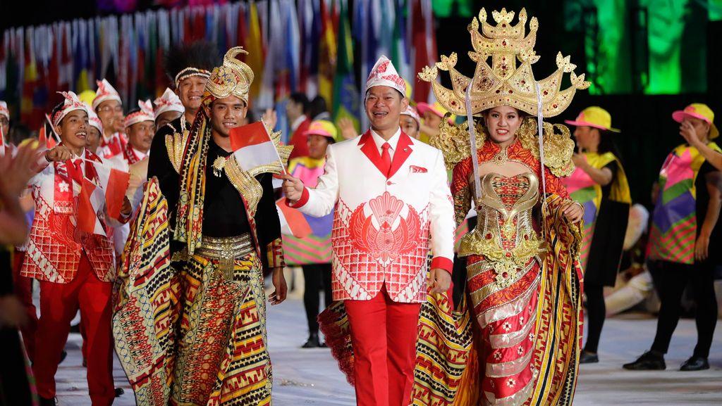 Kostum Kontingen Indonesia Menarik Perhatian Dunia