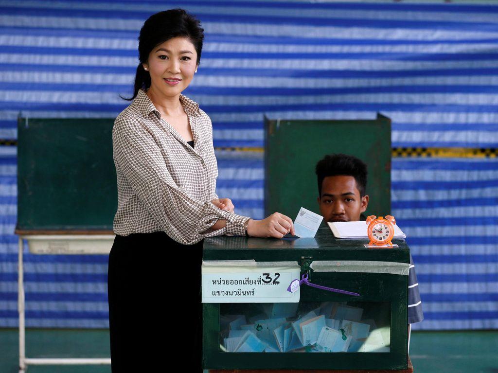 Thailand Cabut Paspor Mantan PM Yingluck Shinawatra