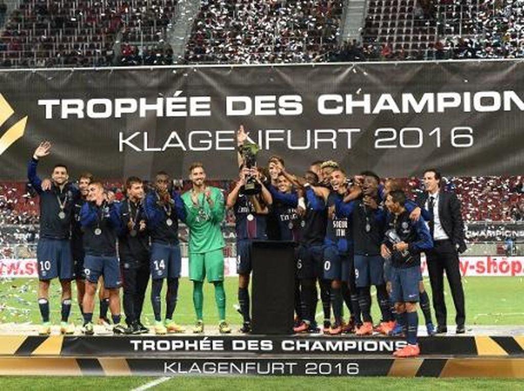 Untuk Kali Keempat Beruntun, PSG Juara Piala Super Prancis