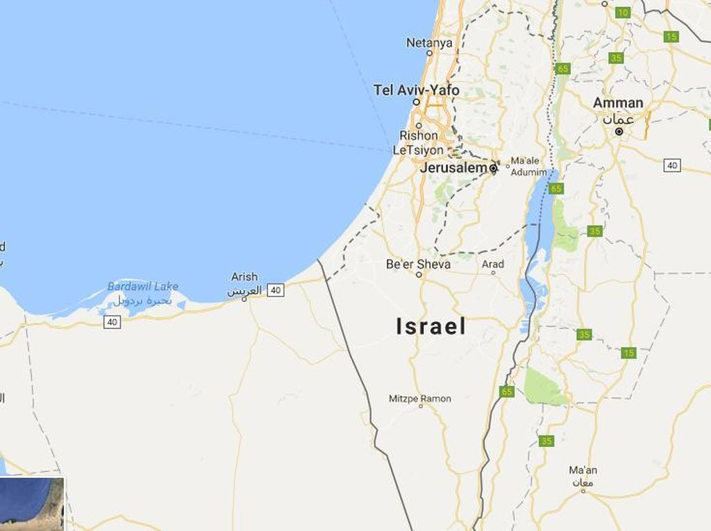 Mencari Palestina di Apple Maps & Bing Maps