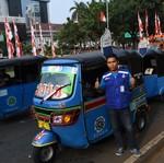 PGN Gratiskan Bajaj Gas di Jakarta Selama Seminggu