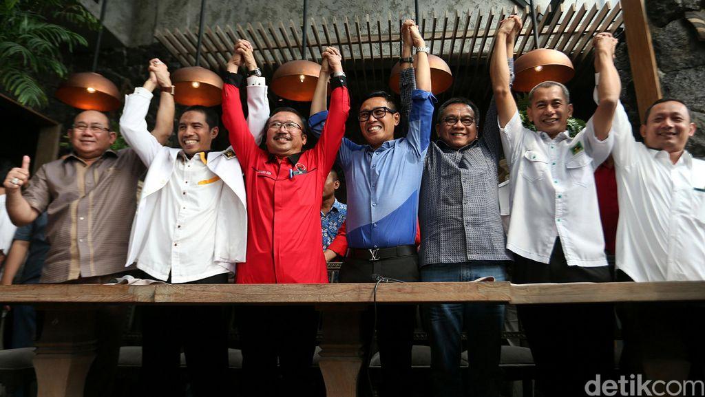 7 Parpol Bentuk Koalisi Kekeluargaan untuk Pilgub DKI