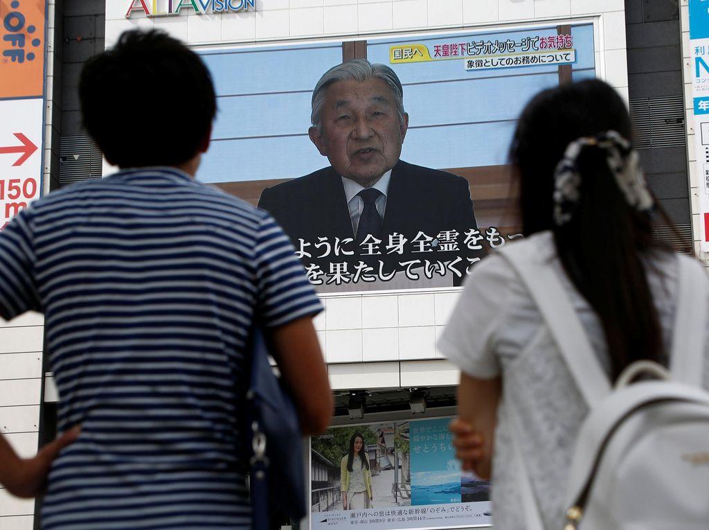 Kaisar Jepang Akui Khawatir Soal Usianya, Tersirat Niat Turun Tahta