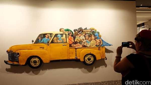 Pameran Galeri Lokal dan Mancanegara di Art Stage Jakarta