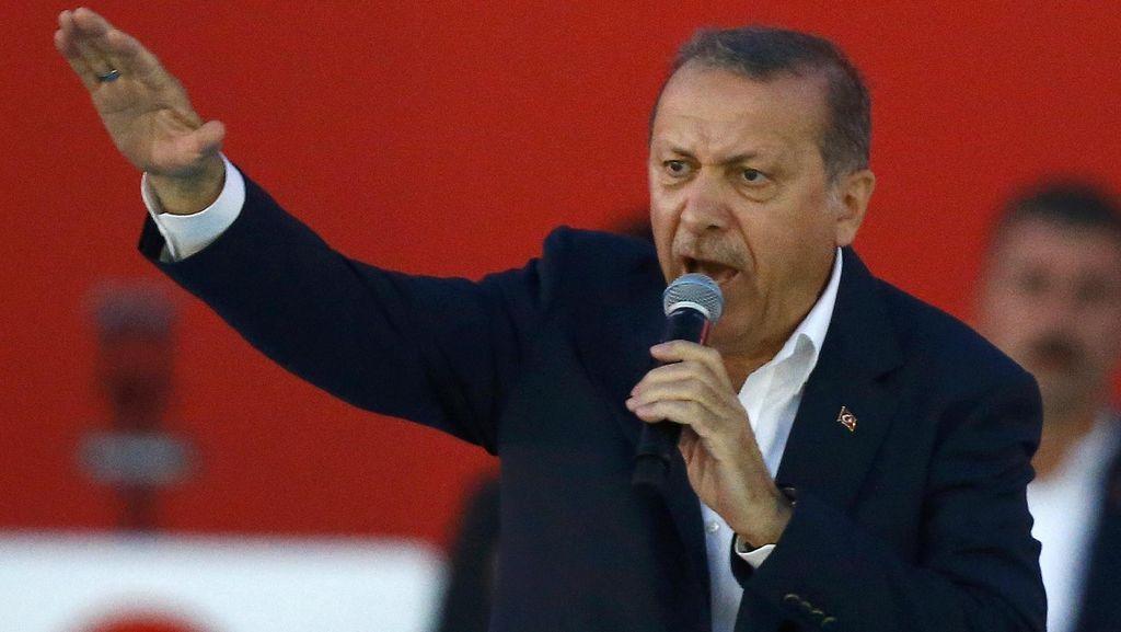 Jelang Referendum Konstitusi, Erdogan Minta Warga Pakai Hak Suara