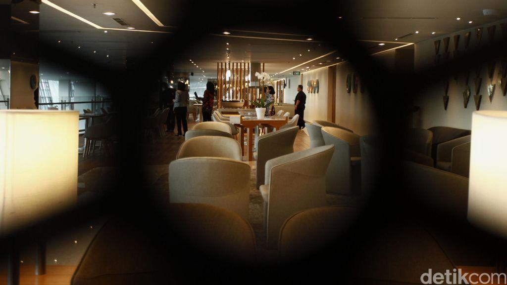 Nyamannya Executive Lounge Garuda di Terminal 3 Ultimate