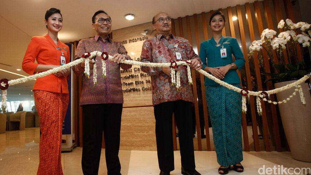 Garuda Indonesia Resmikan Executive Lounge
