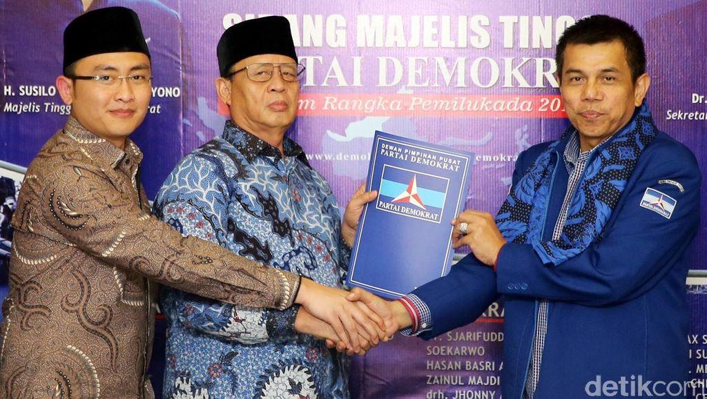 Demokrat Resmi Usung Wahidin-Andika di Pilgub Banten