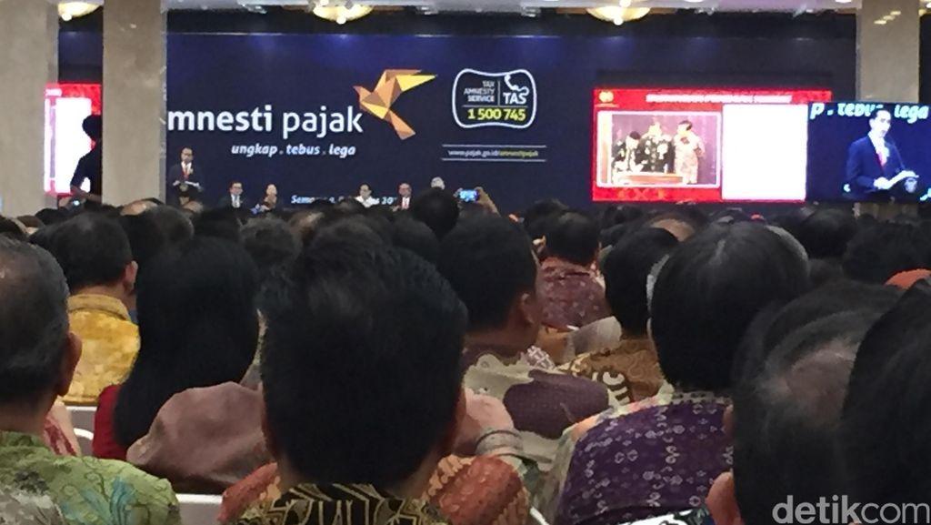 Pakai Foto Ini, Jokowi Yakinkan Pengusaha Mau Setor Pajak