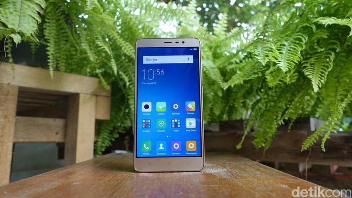 Ponsel Xiaomi. Foto: detikINET/afr