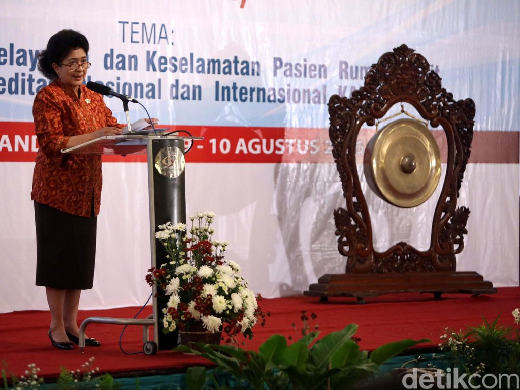 Menkes Resmikan Program Akreditasi Internasional