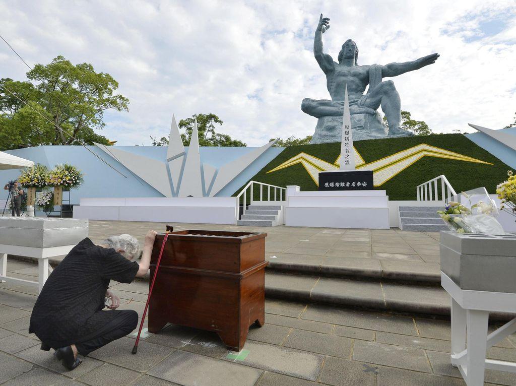 Usai Hiroshima, Giliran Nagasaki Peringati 71 Tahun Tragedi Bom Atom