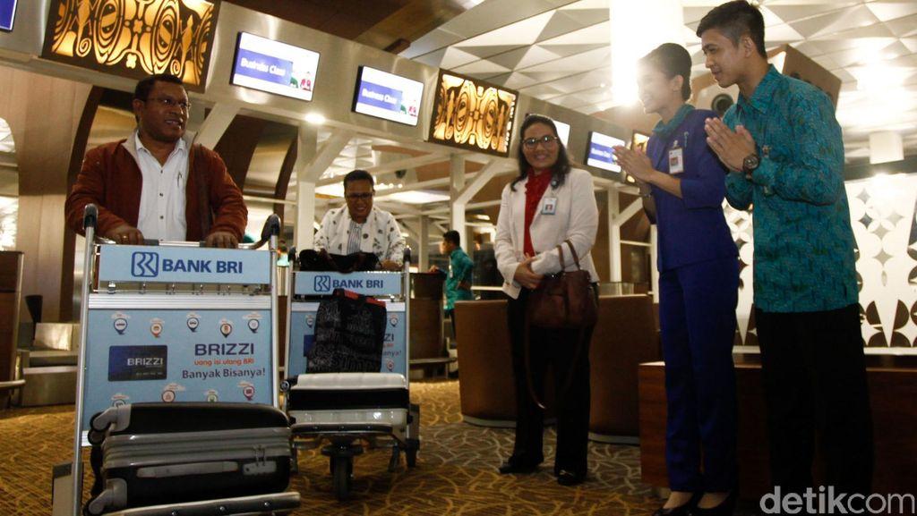 Suasana Terminal 3 Ultimate Jelang Penerbangan Perdana