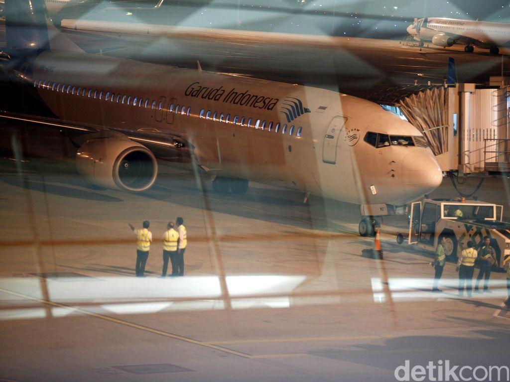Garuda Indonesia Kurangi Jumlah Komisaris dan Direksi