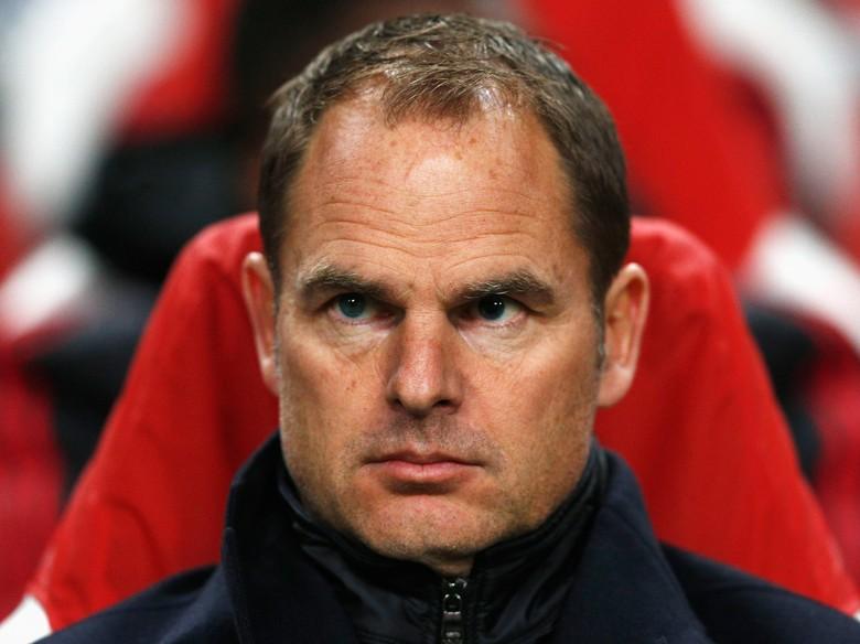 Inter Tunjuk De Boer sebagai Pelatih Baru