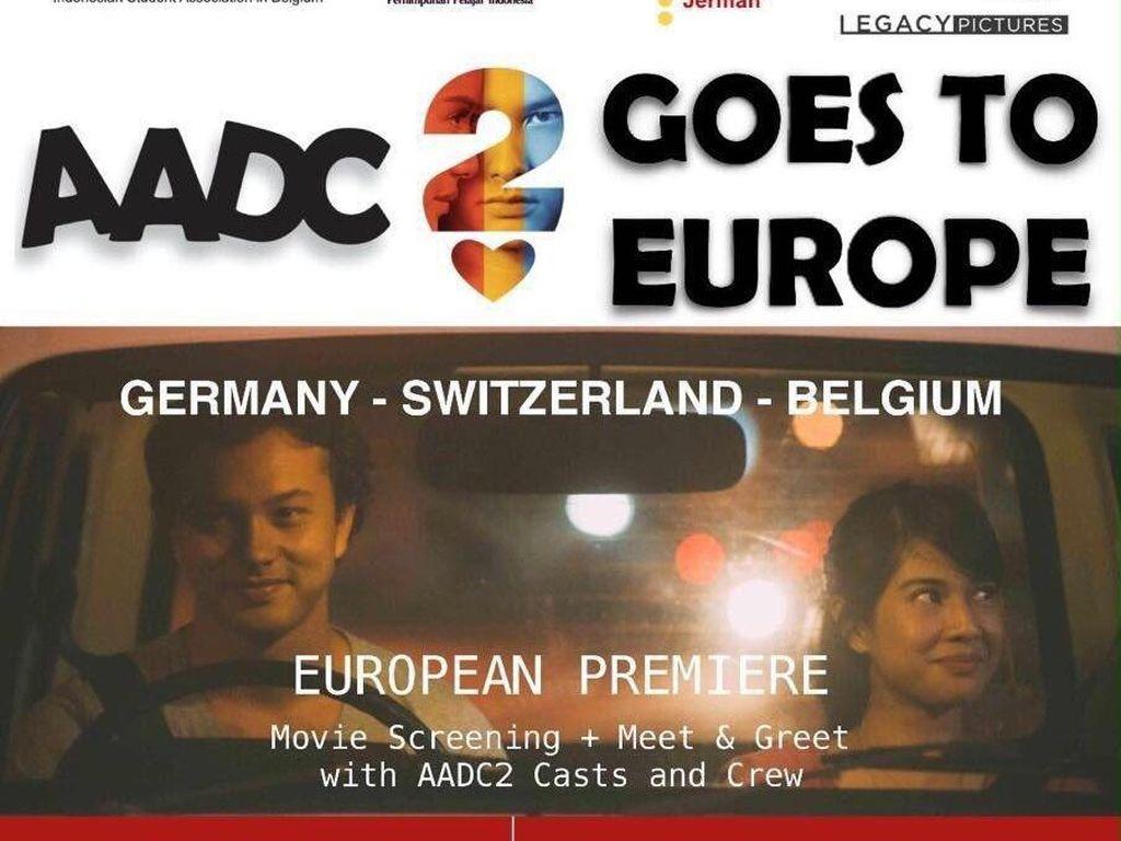 AADC? 2 Siap Diputar di Australia dan Eropa
