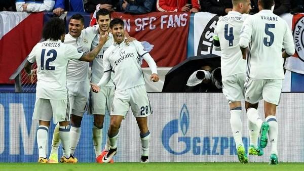 Gol Indah Tandai Debut Marco Asensio di Madrid