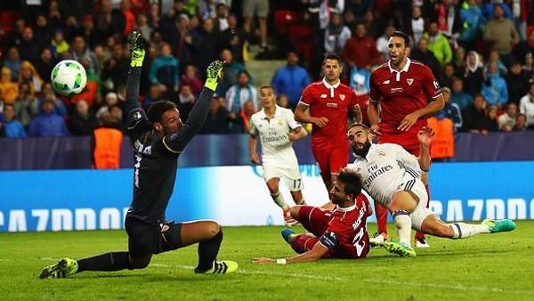 Madrid Juara Usai Tundukkan Sevilla Lewat <i>Extra Time</i>