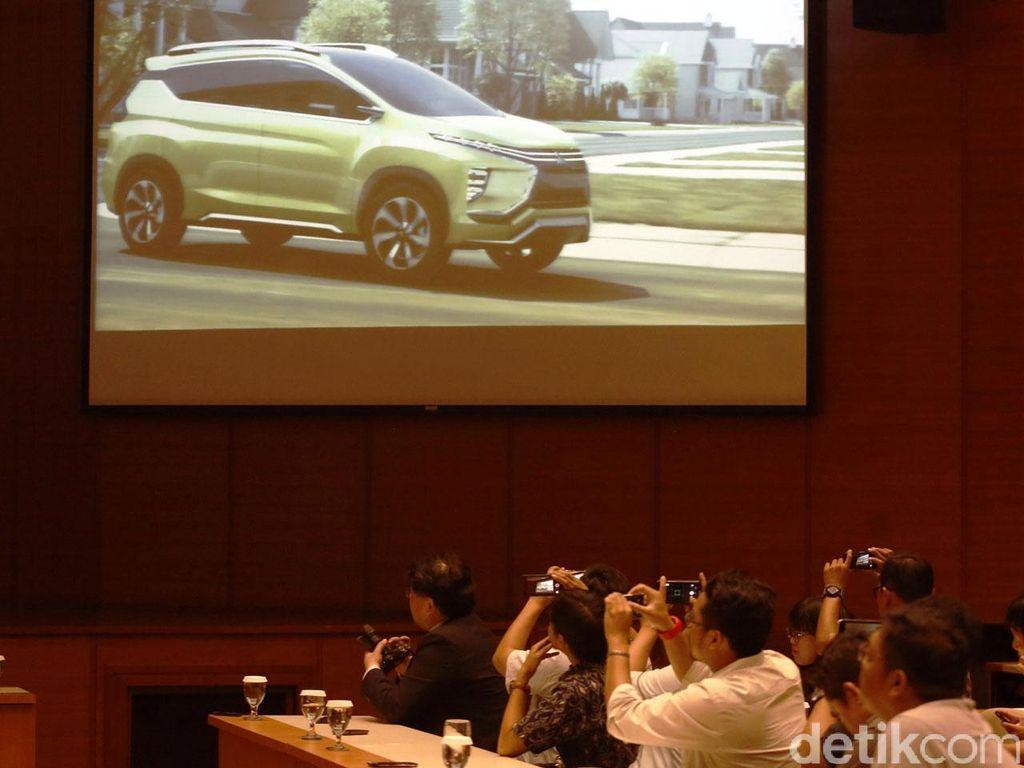 Bos Mitsubishi Perlihatkan Mobil MPV