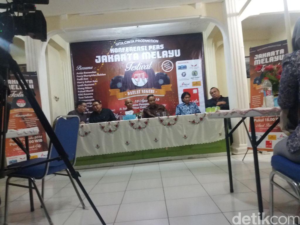Budayawan hingga Eks Menteri Hadiri Diskusi Jakarta Melayu Festival