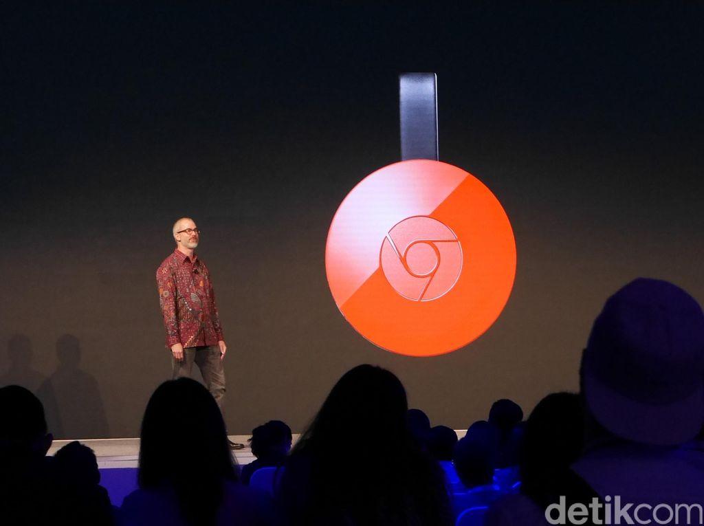 Google Chromecast Anyar Sudah Dijual di Indonesia