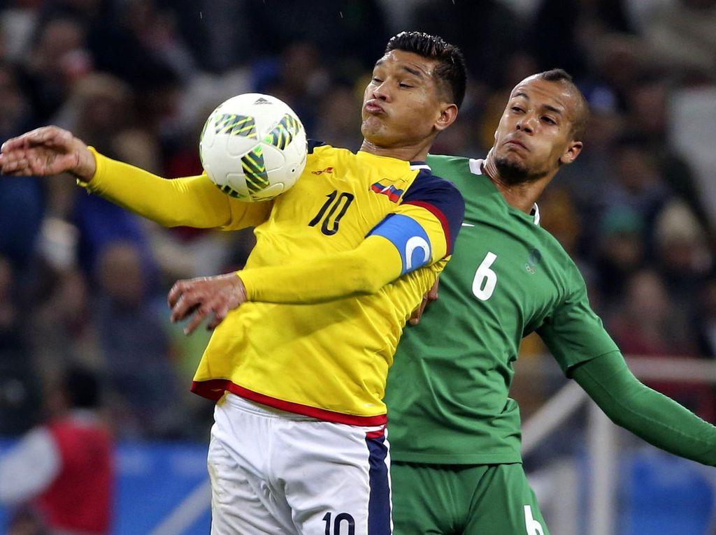 Kolombia Lolos Usai Kalahkan Nigeria