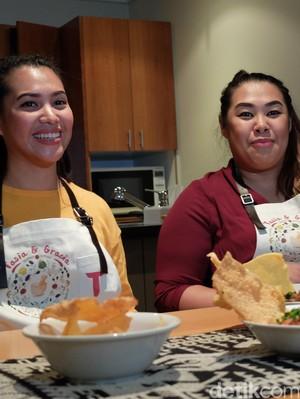 Dari Lomba Masak di Australia, Tasia dan Gracia Gigih Usung Kuliner Nusantara