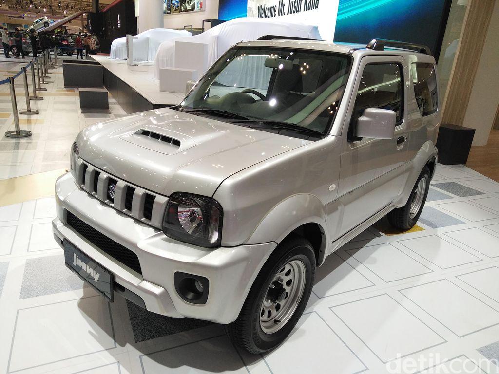 Soal Jimny Anyar, Suzuki: Tunggu Bulan Agustus