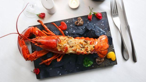 Ilustrasi Hidangan Lobster