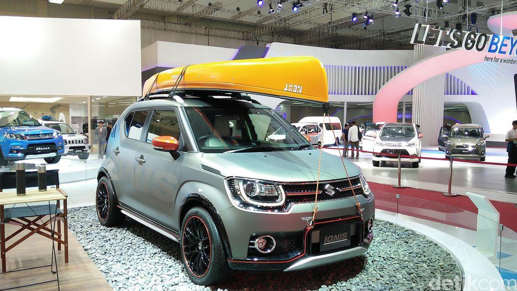 Mobil Kecil Suzuki Dapat Rating 5 Bintang di Tes Tabrakan