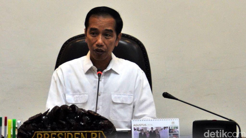 Di Aceh, Jokowi Langsung Gelar Rapat Terbatas Penanganan Gempa