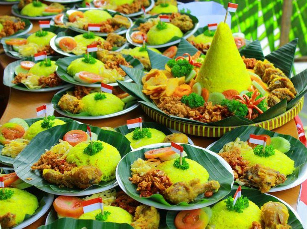 Nasi Tumpeng, Sajian Ikonik Hari Kemerdekaan yang Sarat Makna