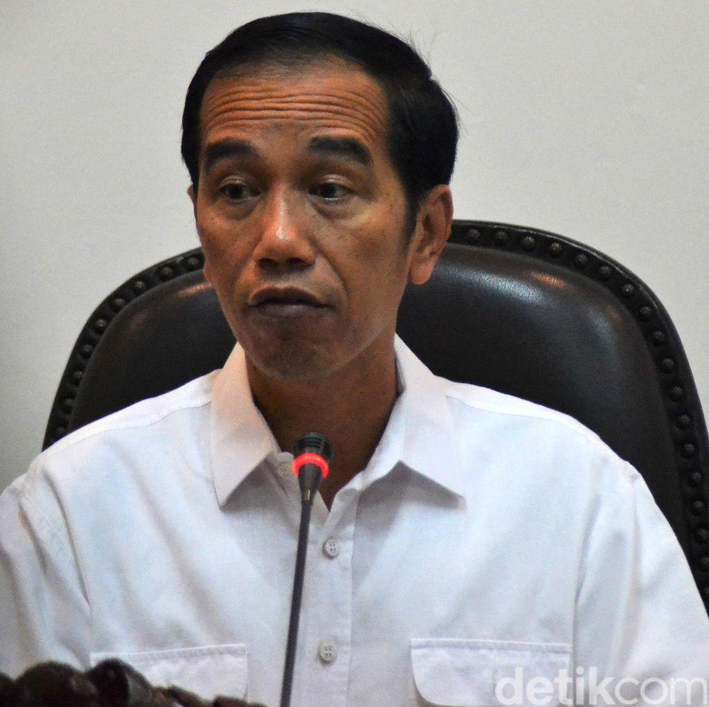 Pertemuan Jokowi dan Try Sutrisno Bahas Penguatan Pancasila
