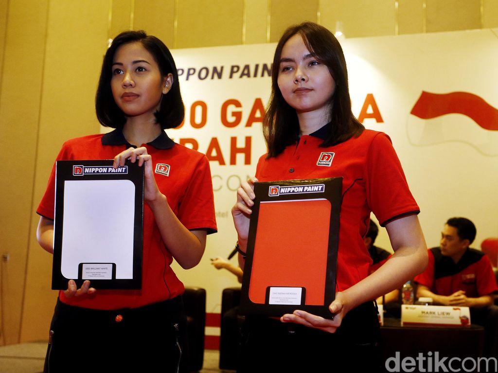 Semangat Gotong Royong Dalam 1.000 Gapura Merah Putih