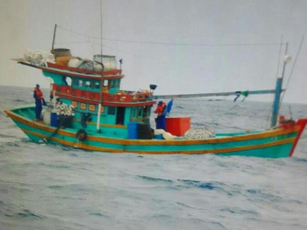 Ilegal Fishing, Kapal Vietnam Ditangkap di Perairan Anambas