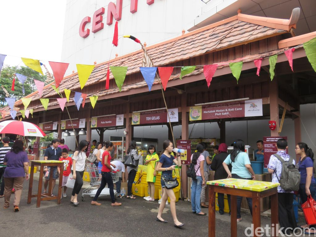 Ada Sate Ponorogo dan Bakwan Malang di Festival Wuenak E Puolll
