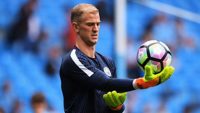 Nasib Joe Hart di Manchester City masih belum jelas. (Foto: Getty Images/Stu Forster)