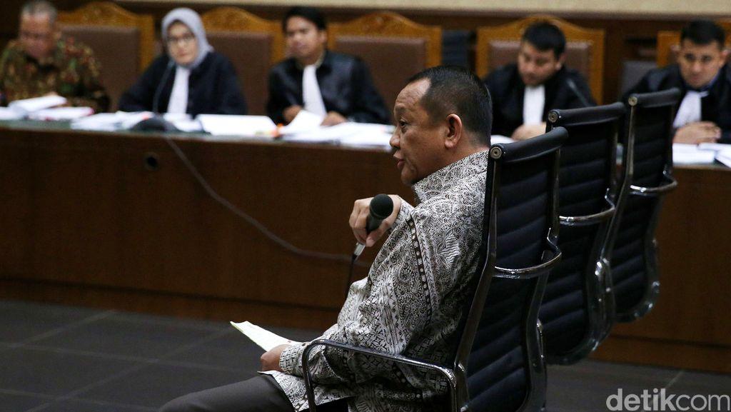 Eks Sekretaris MA Nurhadi Bersaksi di Pengadilan Tipikor