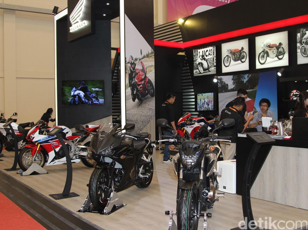 Moge Honda Terjual 29 Unit di GIIAS
