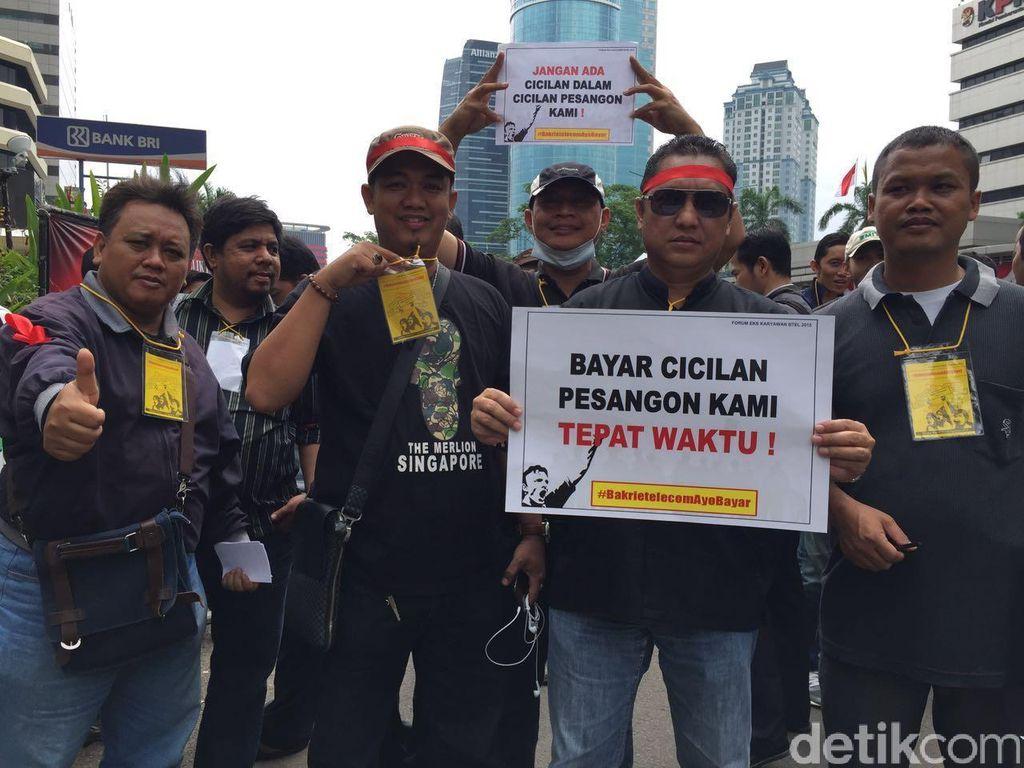 Pesangon Nunggak, Eks Karyawan BTel Tuntut Bertemu Anindya Bakrie