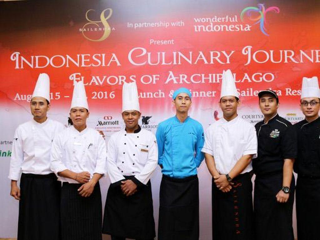 Sambut Hari Kemerdekaan, Marriott International Suguhkan 7 Kreasi Unik Hidangan Nusantara