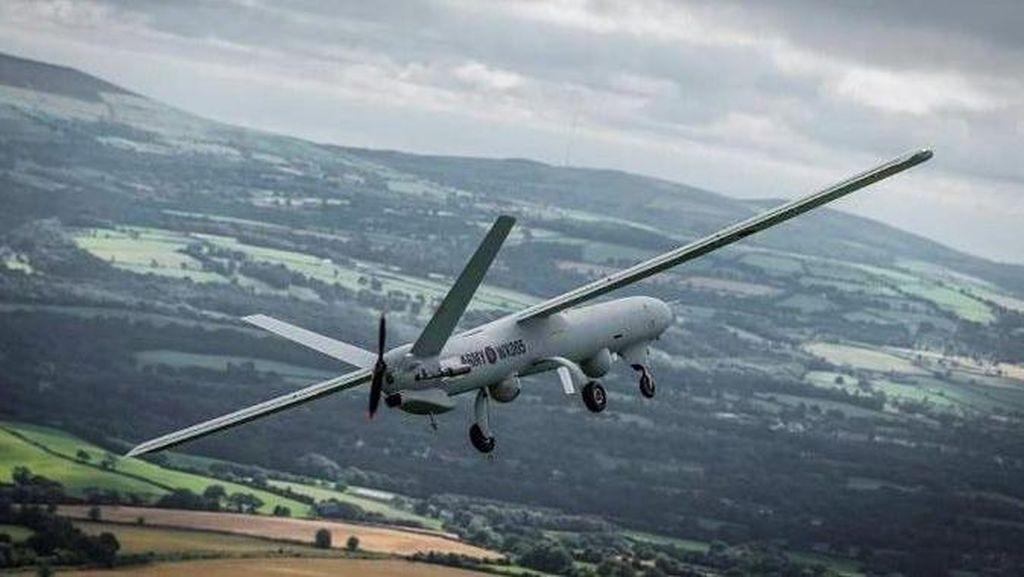 Jatuh Saat Latihan, Drone Rp 254 Miliar Jadi Rongsokan