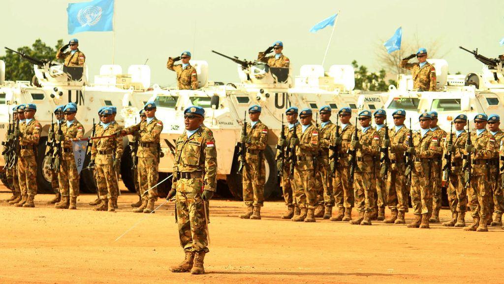 Anggota Pasukan Perdamaian Ditangkap di Sudan, Polri akan Dalami